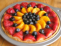 Simply Healthy Living Fruit Pizza - amazing!